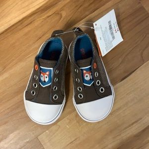 NWT Gymboree Boy's Slip On Shoe's SZ 4